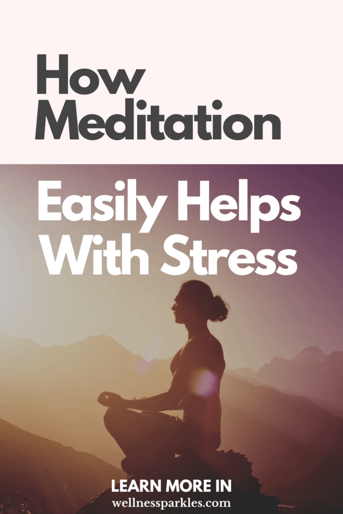 meditation helps with stress