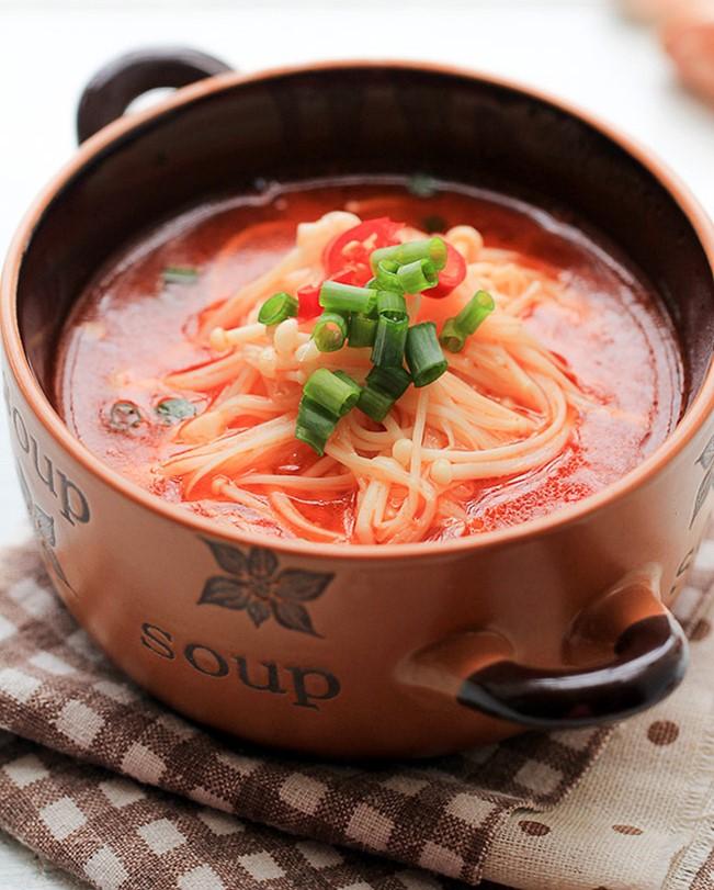 China Sichuan food mushroom recipe