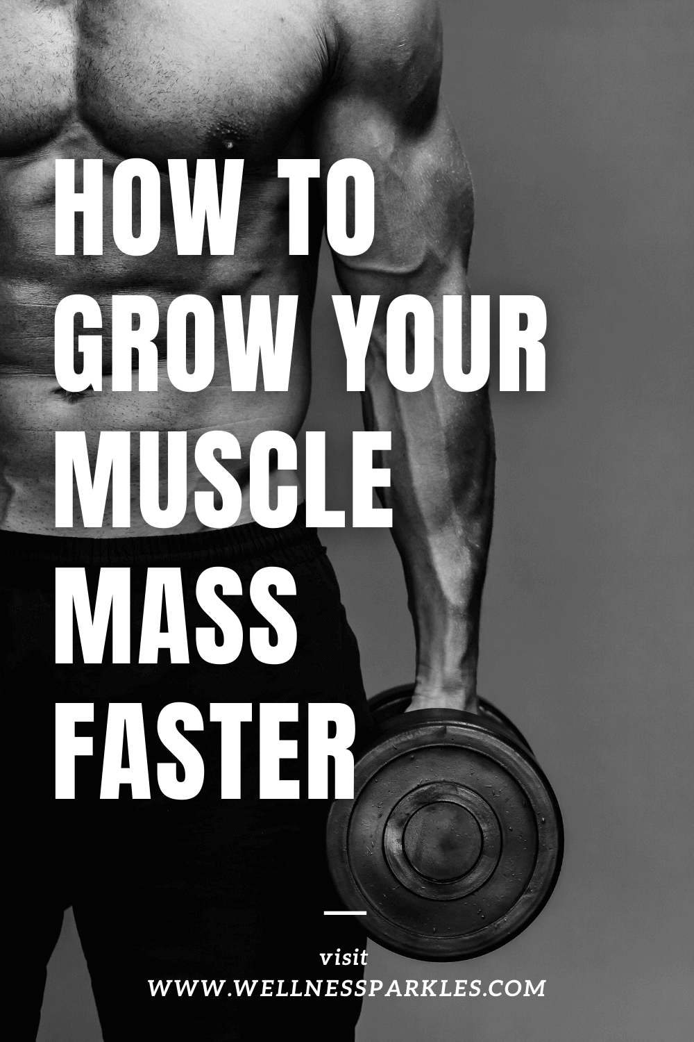 How to gain muscle mass faster