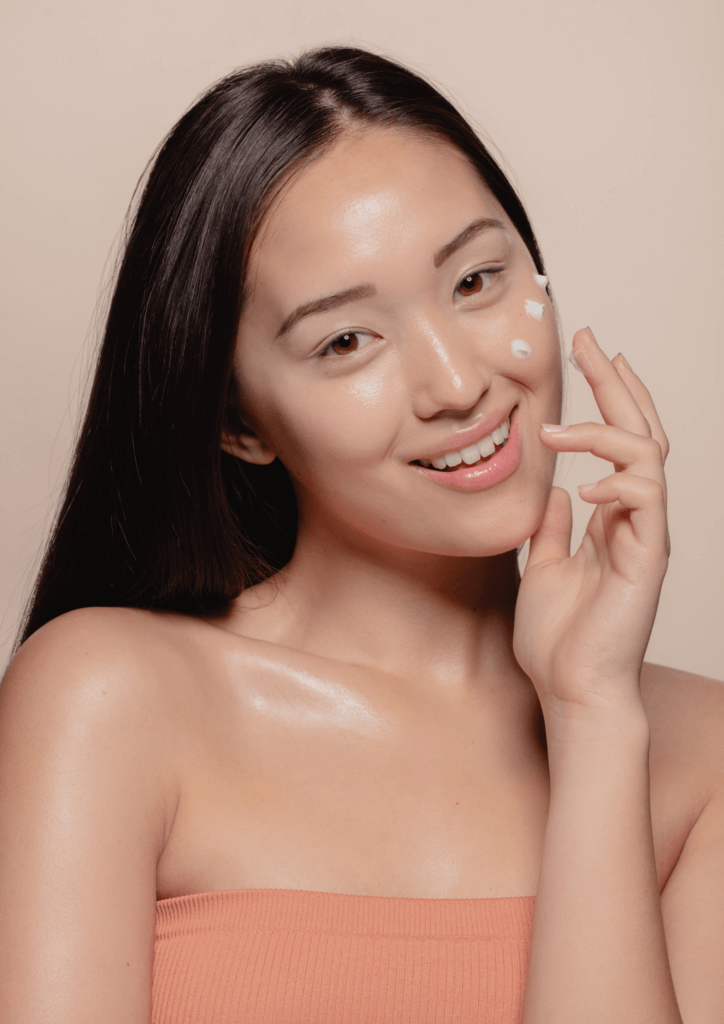 natural Korean skincare routine for acne