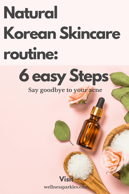 natural korean skincare routine