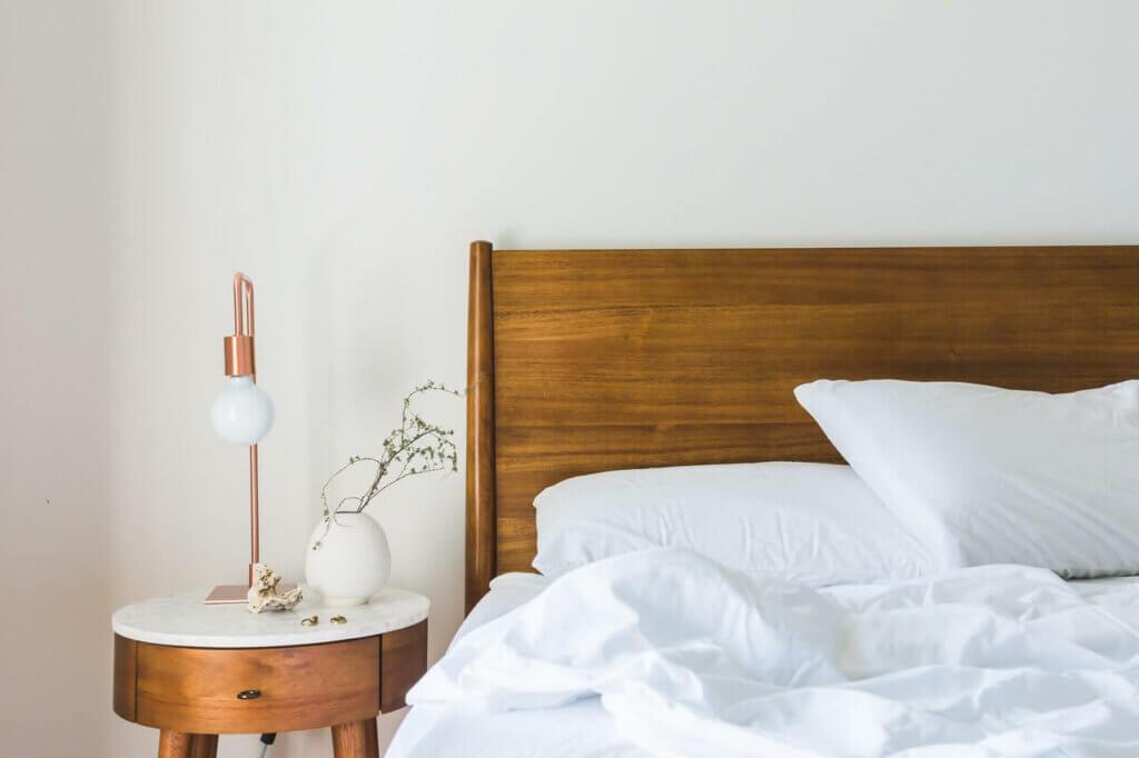 resting sleep bed