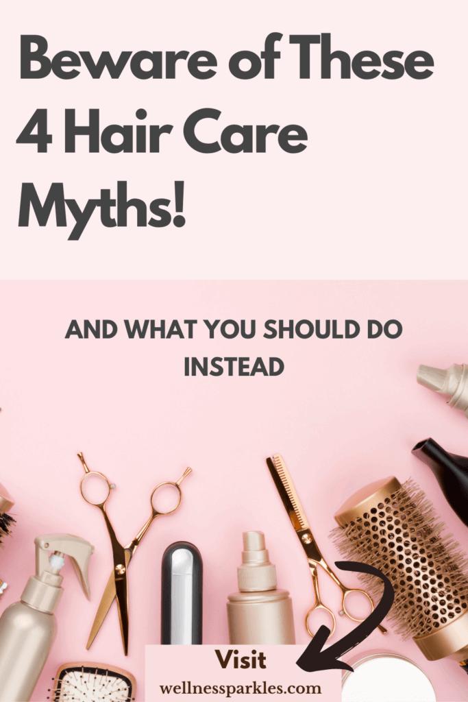 4 hair-care myths