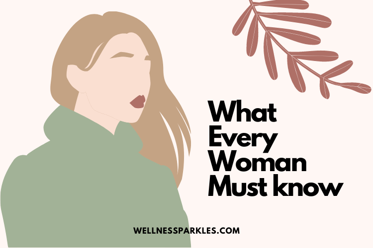 things every woman should know illustration