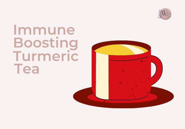 immune boosting turmeric tea 1