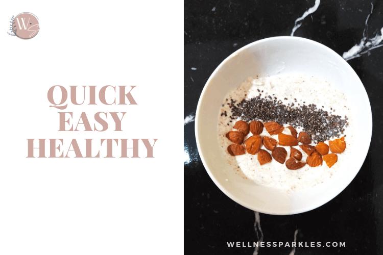 quick easy healthy natural yogurt snack