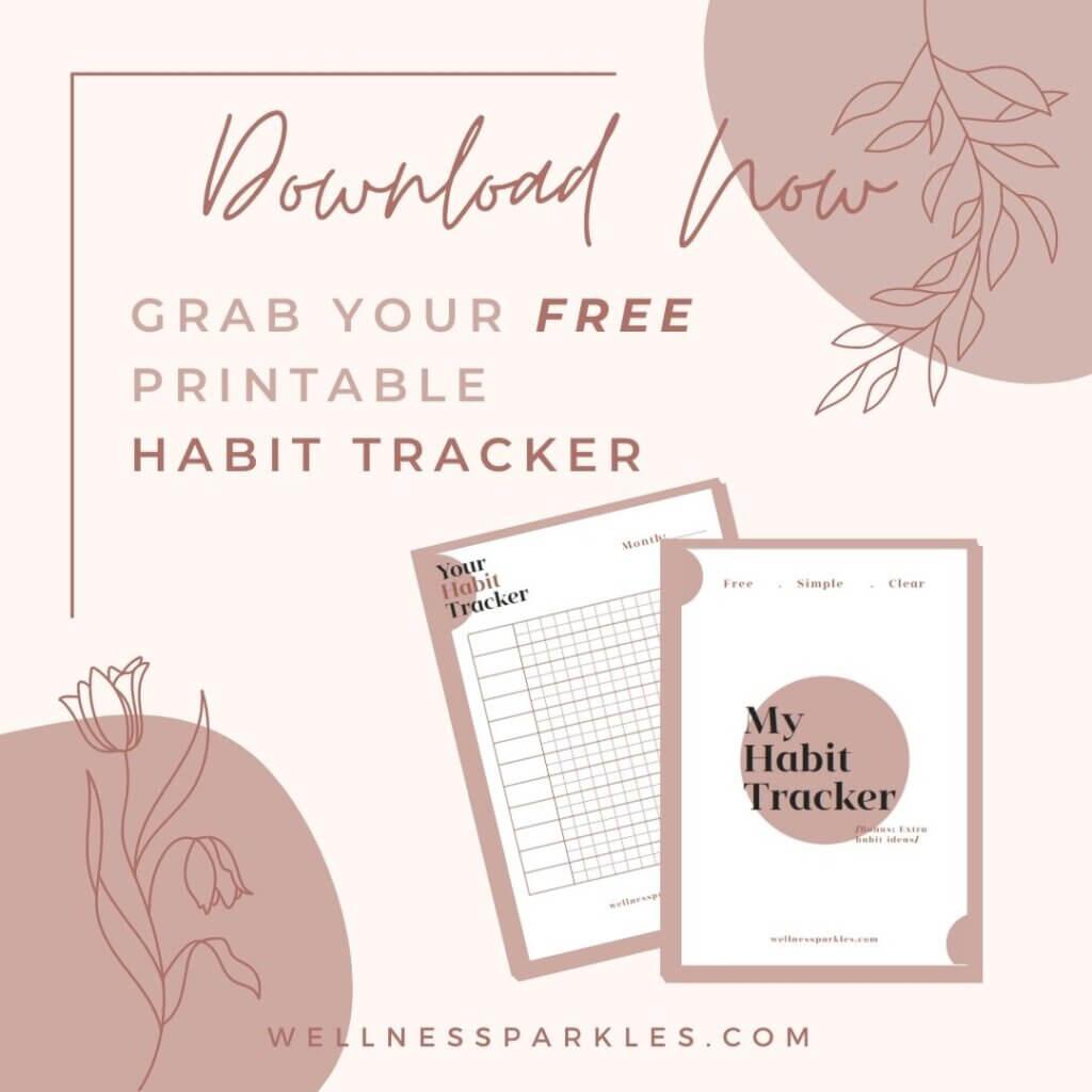 Grab Your Free Printable Habit Tracker
