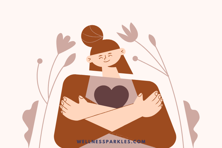 how to build my self esteem as a woman illustration